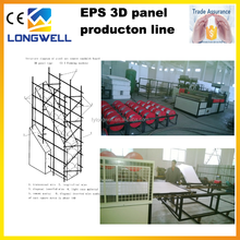 Automatic EPS 3D Panel Steel Wire Mesh Welding Machine with CE