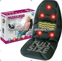 heating and vibration AIRBAG car and home massage cushion