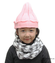 fashion cute pattern crochet baby hat