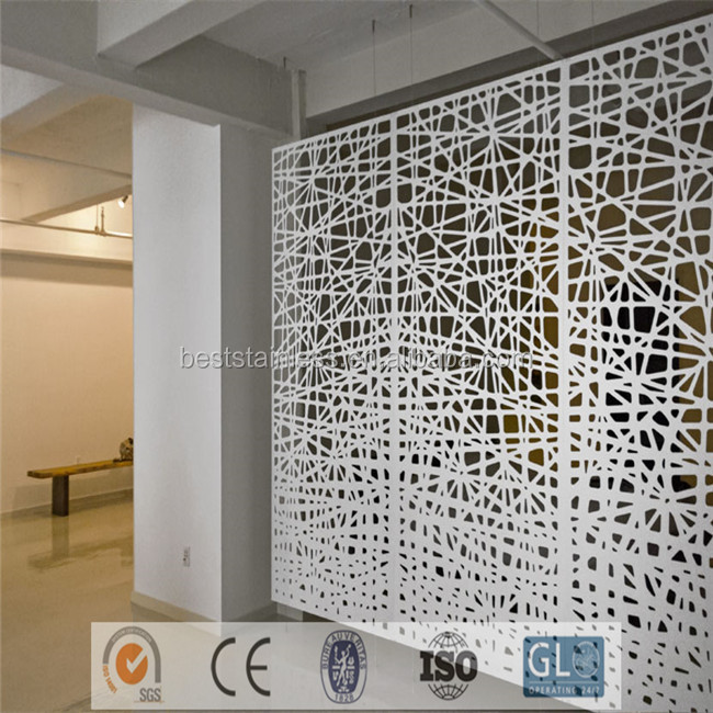 Office Partition Laser Cut Commercial Room Dividers