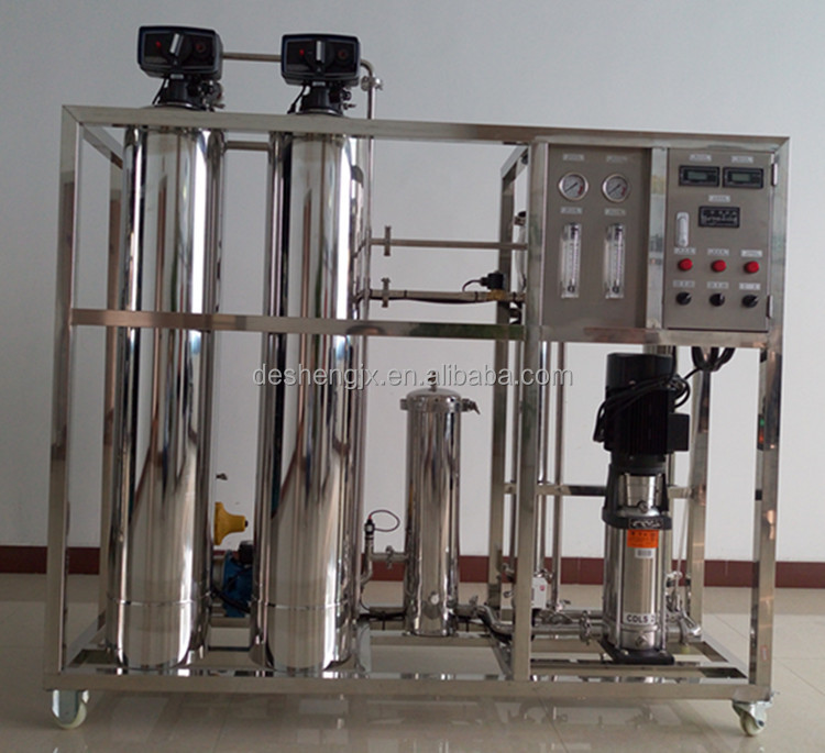 Guangzhou Desheng industry machinery Professional manufacturer Chemical Industries Reverse Osmosis Water Treatment Machine