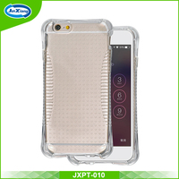 Alibaba shock resistant air cushion soft gel tpu cover case for iphone 6