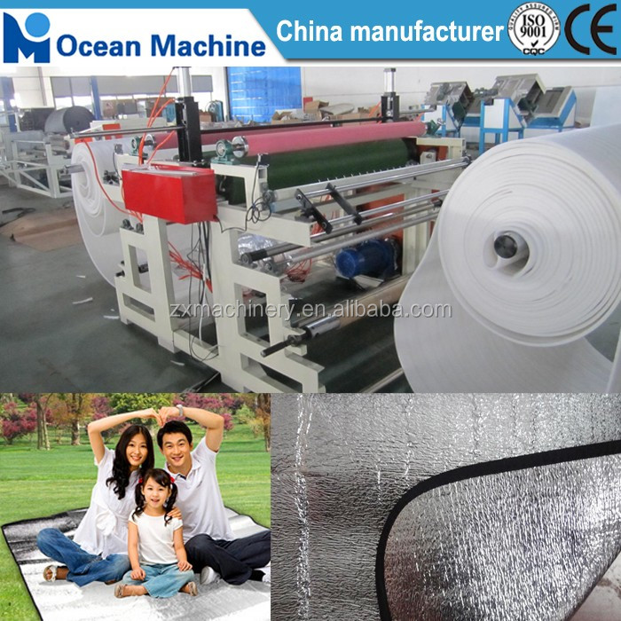 Double-side EPE foam Sheet to film laminating machine