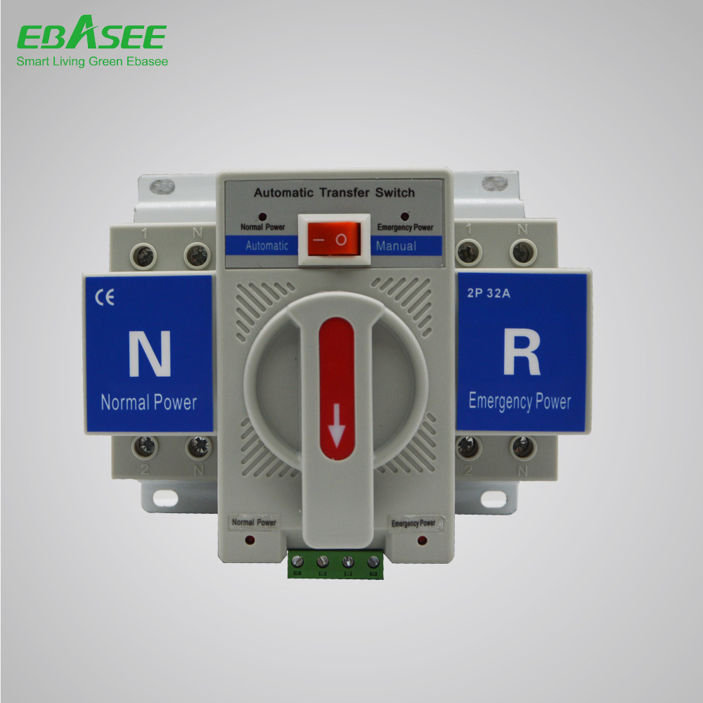 Good quality 3P 16A Automatic Transfer Switch ATS Chinese Manufacturer