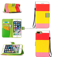 Mixed Color Fancy DIY Design Smart Phone Mobile Phone Accessories Flip Case Cover