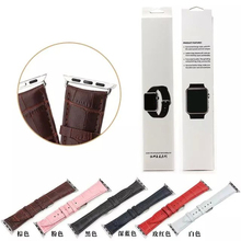 for apple watch crocodile band,for apple watch straps,leather band for Iwatch