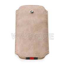 Top Quility Swede Leather Mobile Phone Case,Phone Pouch