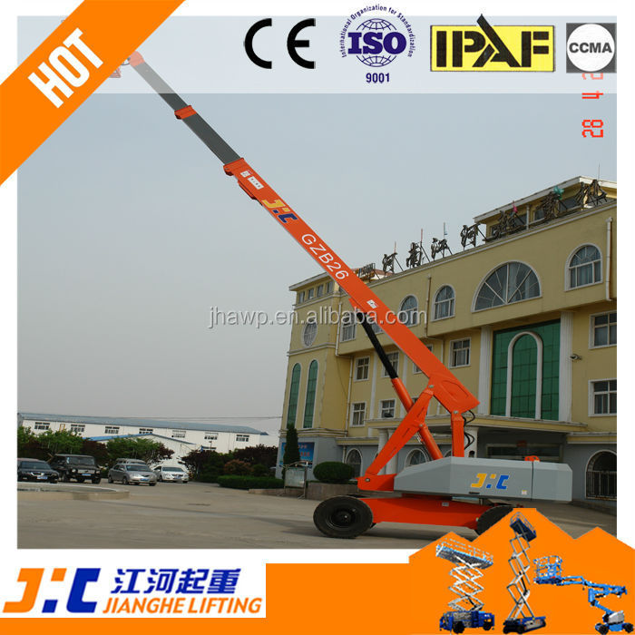 Low Cost Diesel Power Hydraulic Telescopic Boom Manlifts