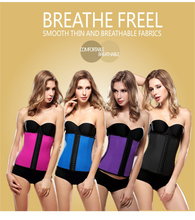 Women fitness compression body shaper girdle waist training cincher corset