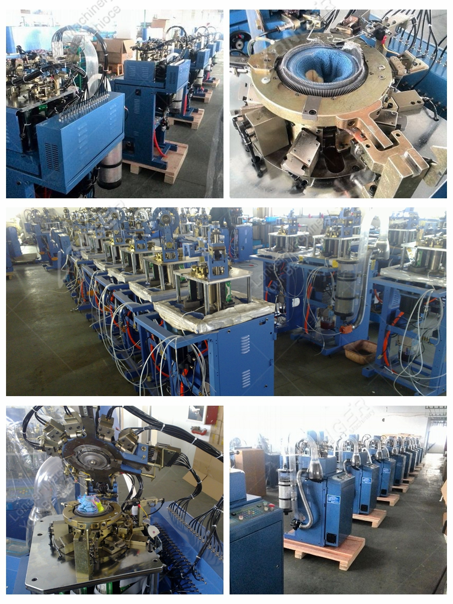 Professional Industrail Automatic Manufacturing Computerized Soosan Socks Linking Making Machine Knitting Socks Machine Price