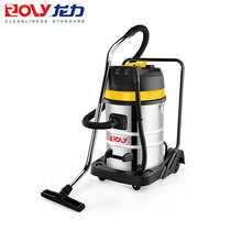 Industrial stainless steel big power three motors vacuum cleaners