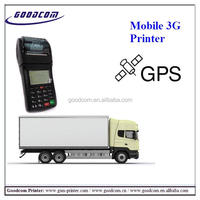 GOODCOM New Product: Portable Handheld Printer with GPS tracker can locate coordinates for delivery service