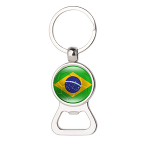 Promotional gift 2018 world cup KEY CHAIN with country flag