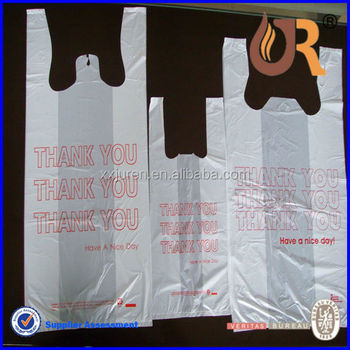 Alibaba Manufacturer T Shirt Plastic Bags Wholesale Buy
