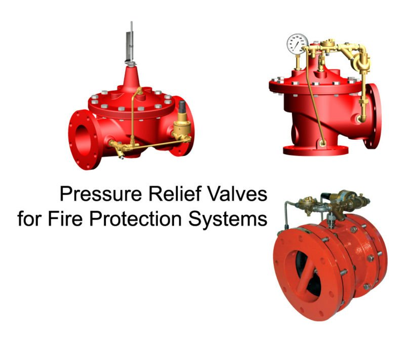 Trim Water Pressure Relief Valves (Adjustable)