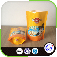 Stand up dog food bags/customized dog food bags