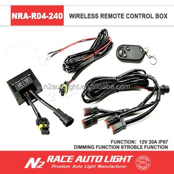 n2 lifetime warranty ip68 car led light wiring harness kit remote rh n2xenonhid com Dodge Wiring Harness Automotive Wiring Harness