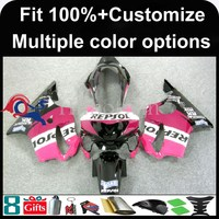 INJECTION MOLDING panels 1999 2000 CBR600 F4 ABS fairing Set For HONDA CBR600-F4 Fairing Pink Purple Bodywork kit CBR600F4 CBR60