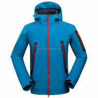 Men Wearproof Waterproof Breathable Softshell Jacket