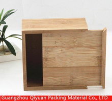 Free Risk Matte Surface High Quality Original Color Essential Oil wood gift boxes wholesale