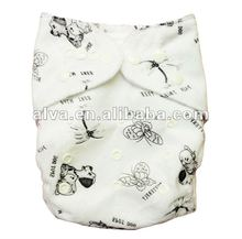 Healthy Baby Wear, Washable Cloth Diaper Nappy, All in One Size