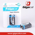 Good quality! Cheap price! super alkaline 6LR61 battery 9V battery