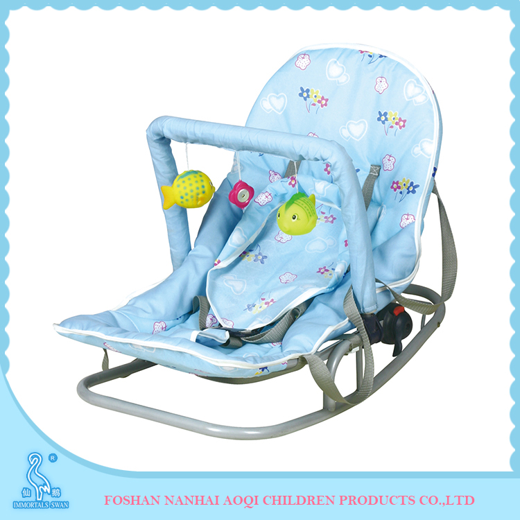 317 Environmental Folding Kids Indoor Musical Baby Buncer Rocker