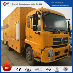 Dongfeng 4*2 mobile emergency power supply truck, Multi-function electric supply truck for sale