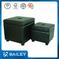 Various Colors Furniture Manufacturer Storage Ottoman Simple Living Room Furniture