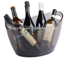 cool summer! plastic champagne bucket for bar using LD-B103