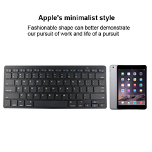 cheap price portable Ultra-thin mini Bluetooth Keyboard for iPad 1 / 2 / New iPad