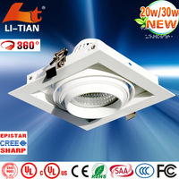 2014 Super Popular 80 lmw 20w led downlight with CE RoHS LVD ceitification