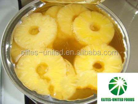 Wholesale bulk light syrup canned sweet pineapple