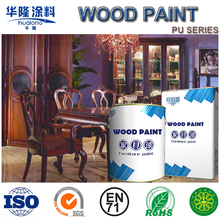 Hualong Scratch Resistance 50% Gloss PU Varnish for Wood (HJ8805)