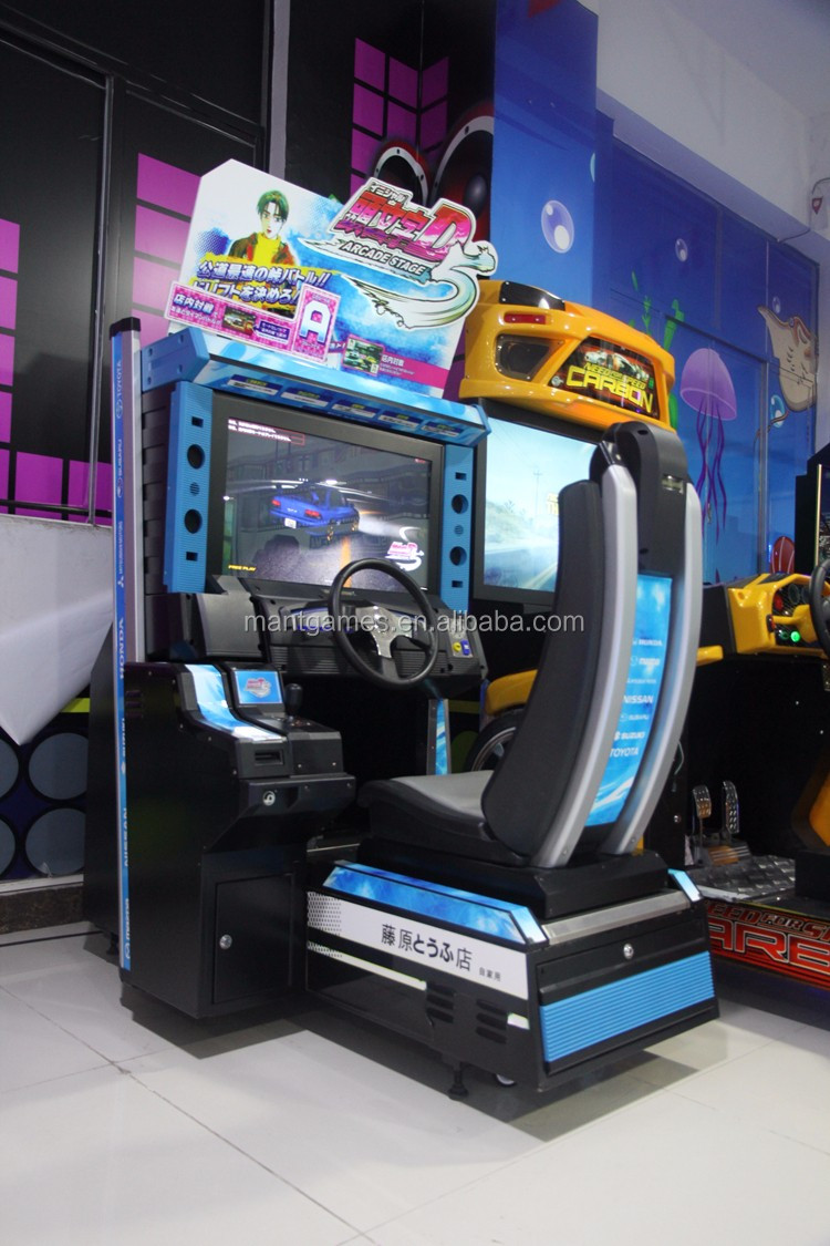 newest version Initial D Arcade Stage 6 simulate arcade racing game machine