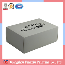 Top Grade Color High Quality Plain White Custom Shoe Box