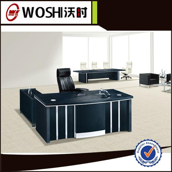 De alta calidad de muebles de oficina de melamina for Muebles de oficina en l