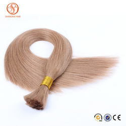 2016 7A 100% Raw Unprocessed Straight Weft Remy Human Hair Wholesale European Bulk Hair For Women