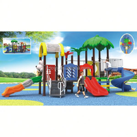 outdoor playground slides, LZ-H1288 playground equipment for kfc
