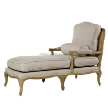 FN-6934 High quality living room french chaise lounge long sofa chair loft sofa