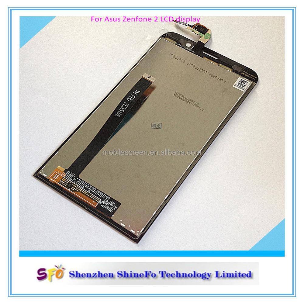 Запасные части для Asus Zenfone 2 ZE500CL дигитайзер сенсорный ЖК-экран сборки-ЖК-экраны для мобильных телефонов-ID товара::6033