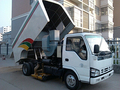Leaf Vacuum Chipper Sweeper Truck