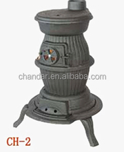 popular cast iron pot belly stove