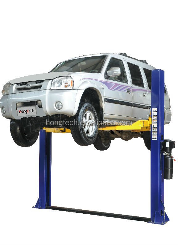 Hongtech elevador de autos de 2 columnas/ two post car lift