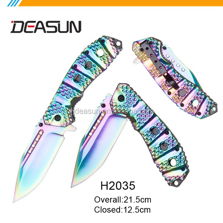 Wholesale unique camping pocket knife,stainless steel wholesale Camping Knife