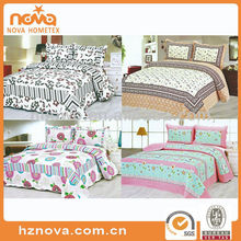 Nice design hot sales patchwork bed sheet