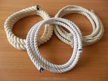 China professional supplier offer 3-strand twisted cotton rope