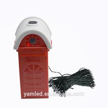 CE Approved festival day Led net light , christmas decoration motor with star decoration