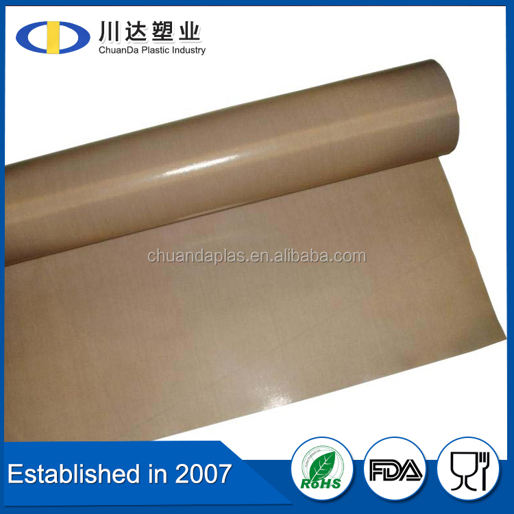 lowest wholesale PRICE PTFE COATED GLASS FIBER fabric heat insulation material