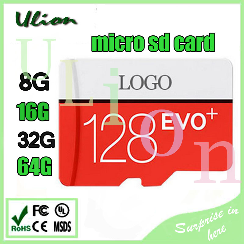 100% Full capacity and high speed read and write HC class 10 32GB 64GB 128GB Micro TF SD card memory card